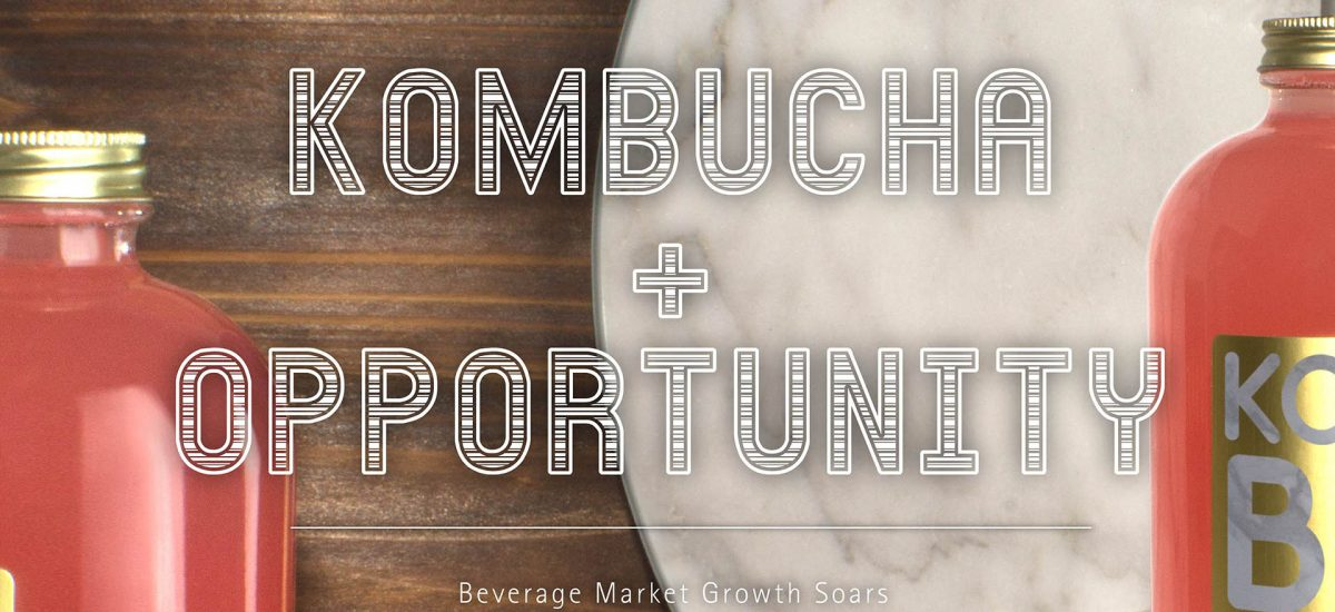 Kombucha Popularity Makes Beverage Market Growth Soar
