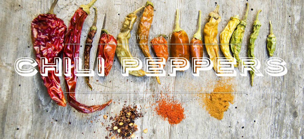 What Type of Peppers Should I Use for My Hot Sauce?