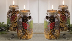 Glass Jars for Holiday Season