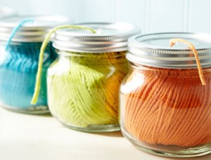 Glass Jars for Strings