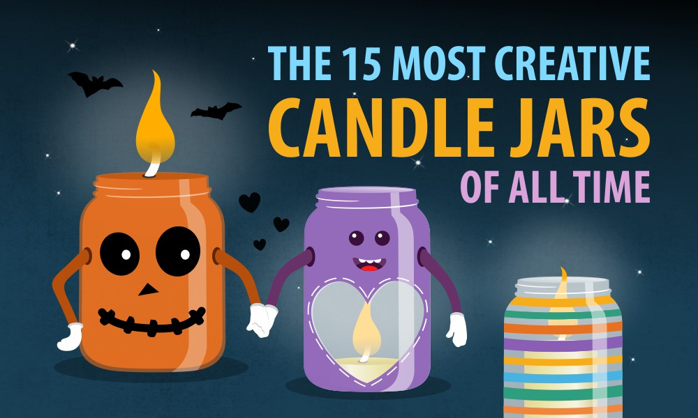The 15 Most Creative Candle Jars of All Time