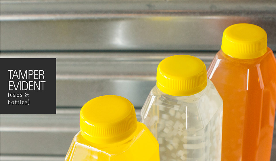 Proactively Protect your Juice with Tamper Evident Caps