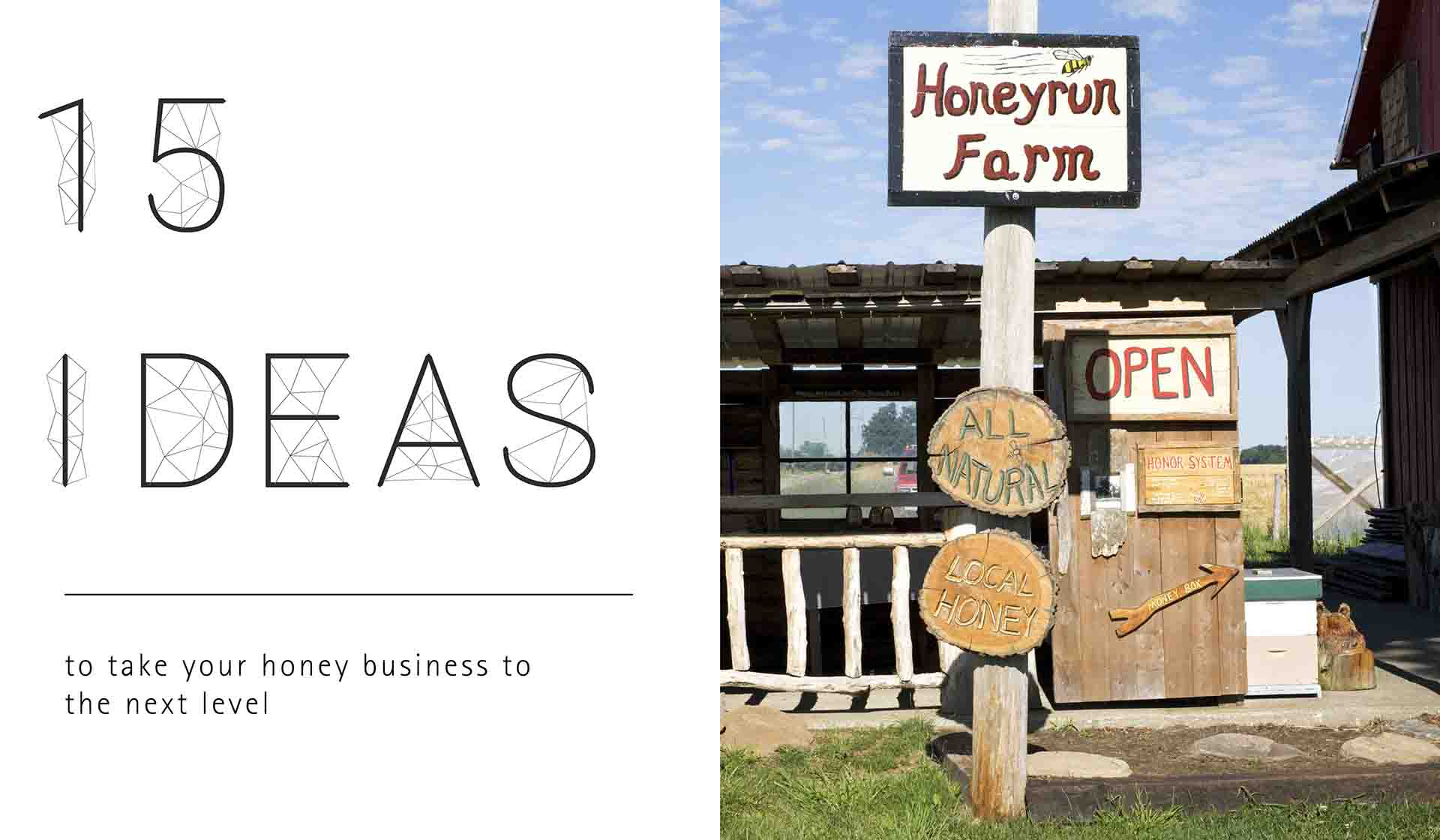 15 Ideas to Take Your Honey Business to the Next Level