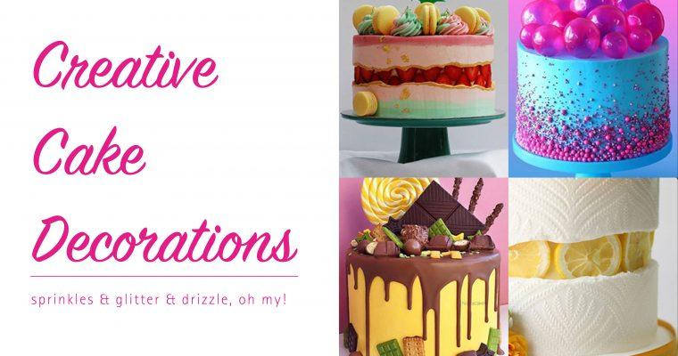 Creative Cake Decorations