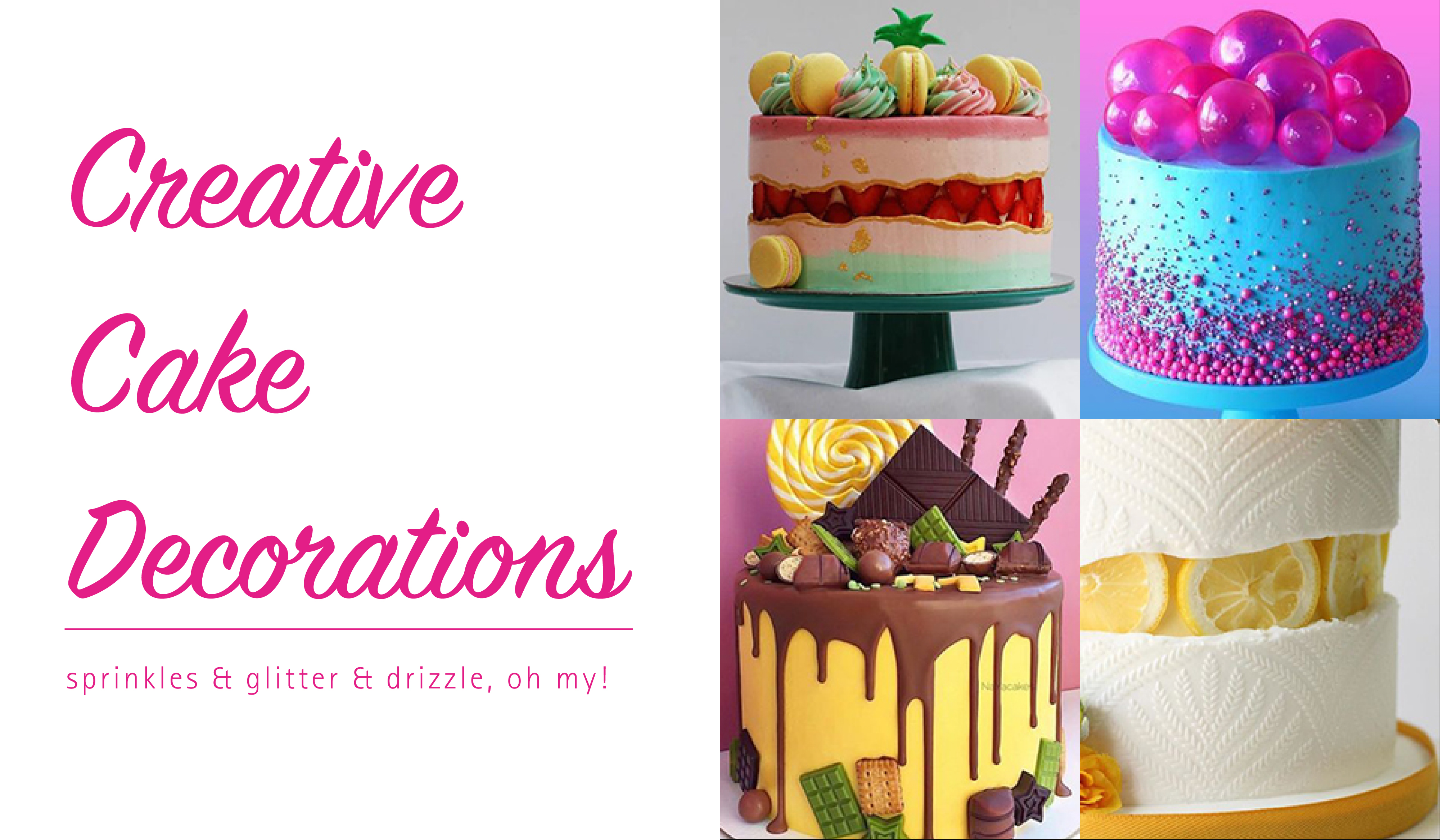 Creative Cake Decorations